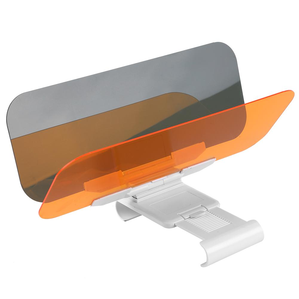Car Transparent Anti Glare Glass Car Sun Visor Extender for Day /& Night Driving