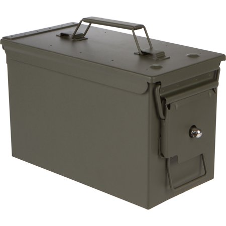 "11.8"" All Metal Ammo Can with Installed Locking Hardware by Modern Warrior thumbnail"