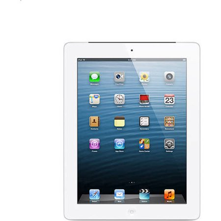 Apple - iPad with Retina display Wi-Fi - 16GB - White
