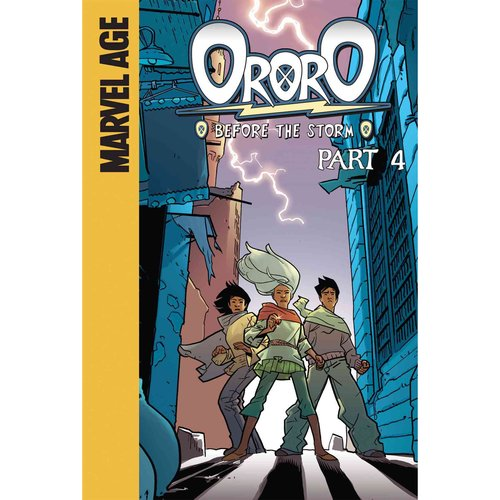 Ororo: Before the Storm, Part 4