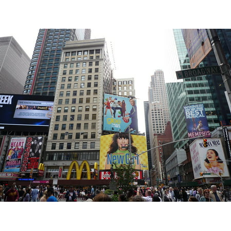 Canvas Print USA New York City NYC Broadway Time Square Stretched Canvas 10 x 14](Halloween Store Broadway Nyc)
