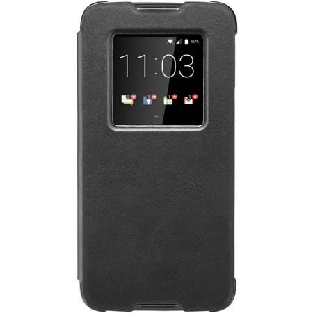 BlackBerry DTEK60 Smart Flip Case, Black