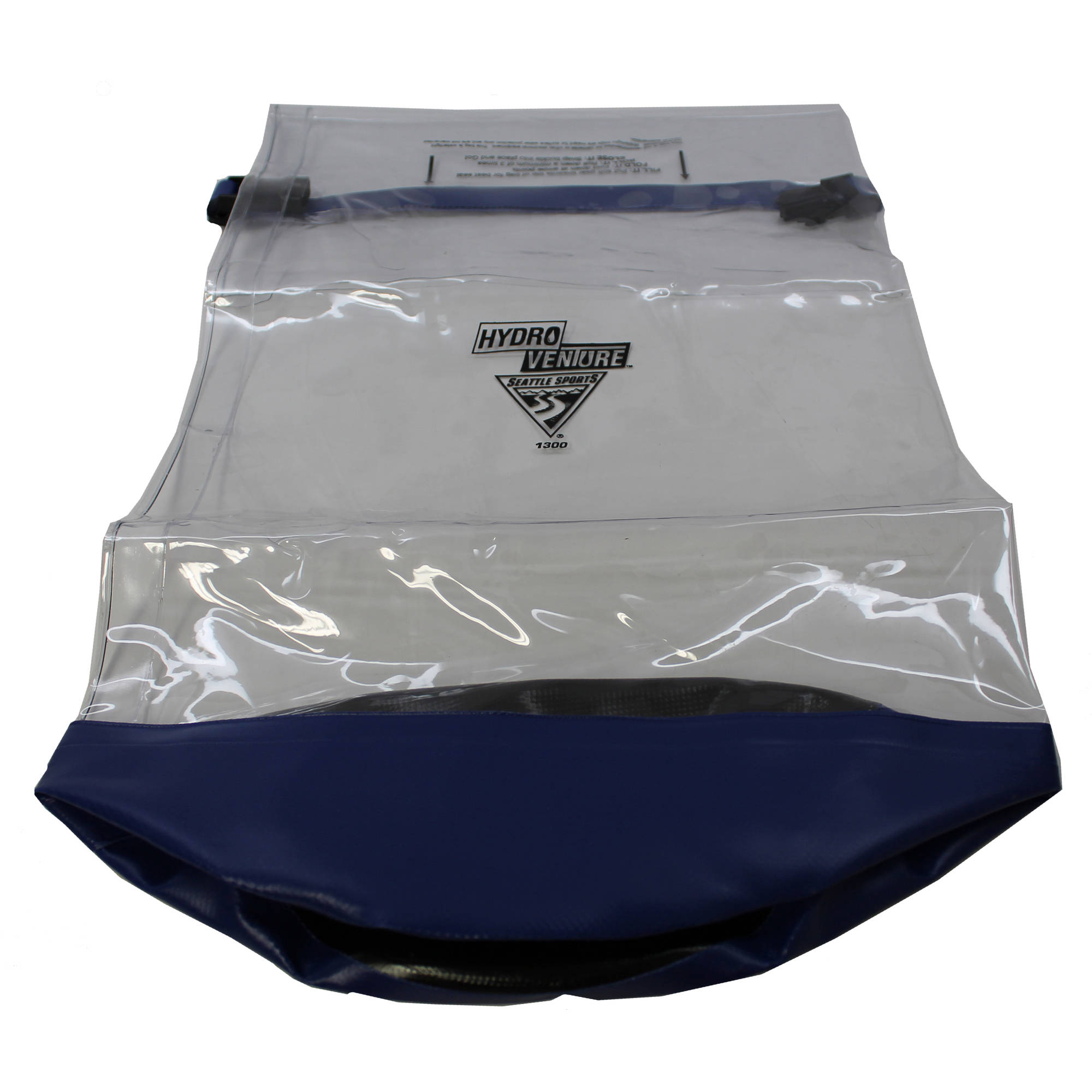 Seattle Sports Glacier Clear Dry Bag, Clear Medium