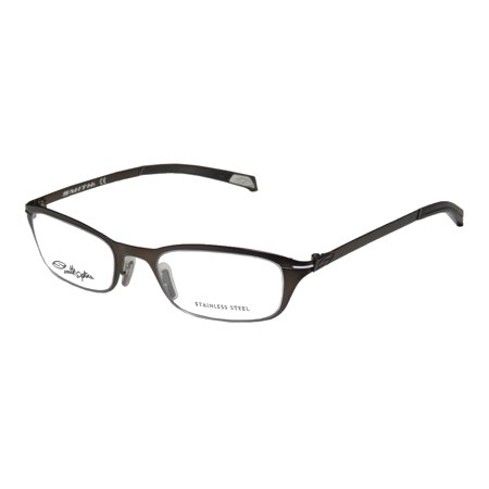New Smith Optics Camby Mens/Womens Designer Full-Rim Chocolate Stainless Steel Optical Frame Demo Lenses 50-19-135 Eyeglasses/Eyeglass (Smith Opticals)
