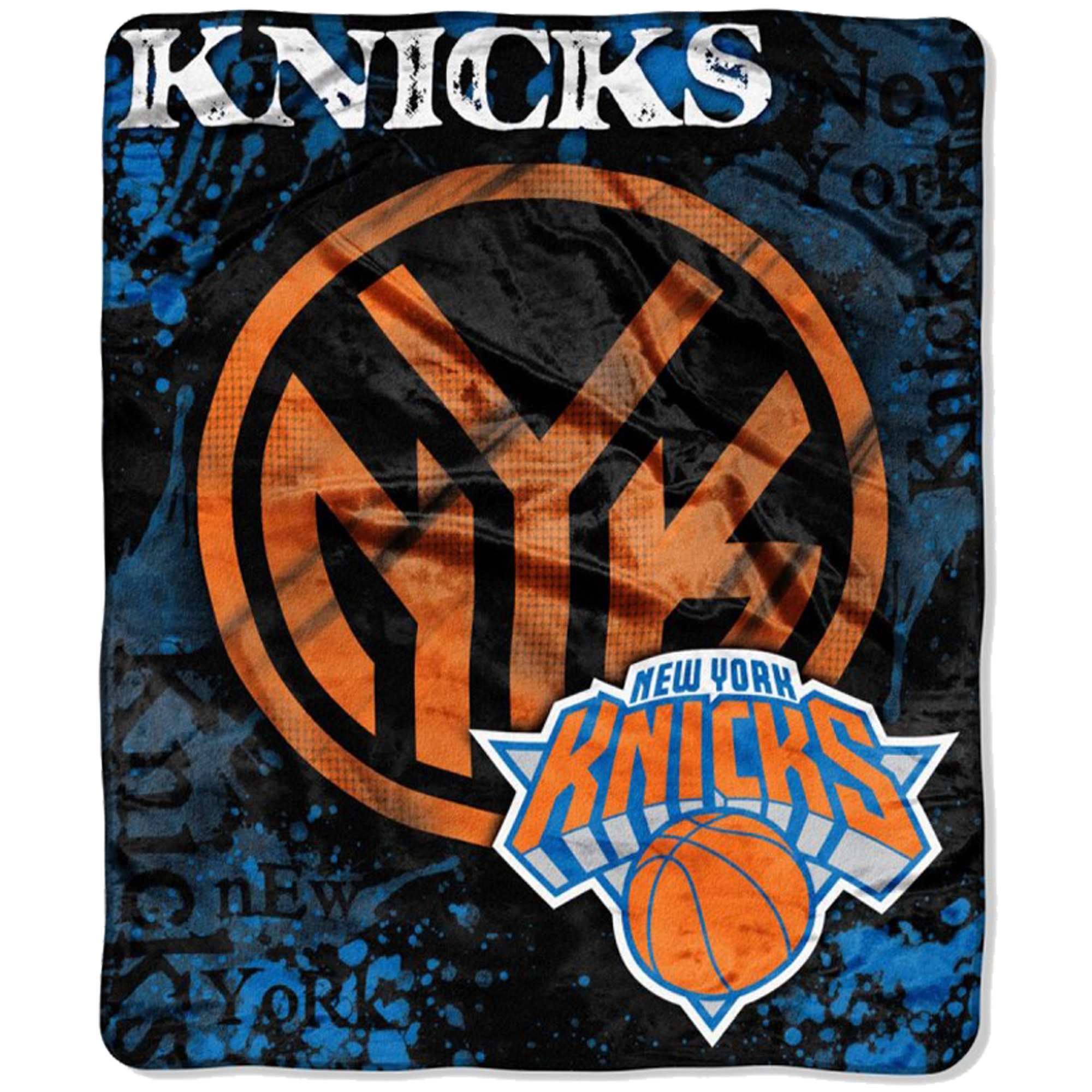 "New York Knicks 50"" x 60"" Plush Blanket - No Size"