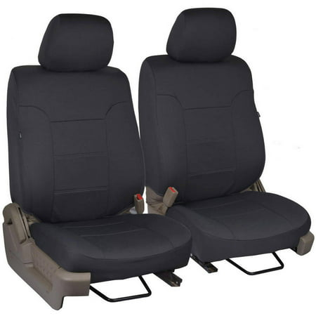 Power Passenger Seat (Custom Fit Seat Covers for Ford F-150 Regular and Extended Cab 2009-2013 (Driver and)