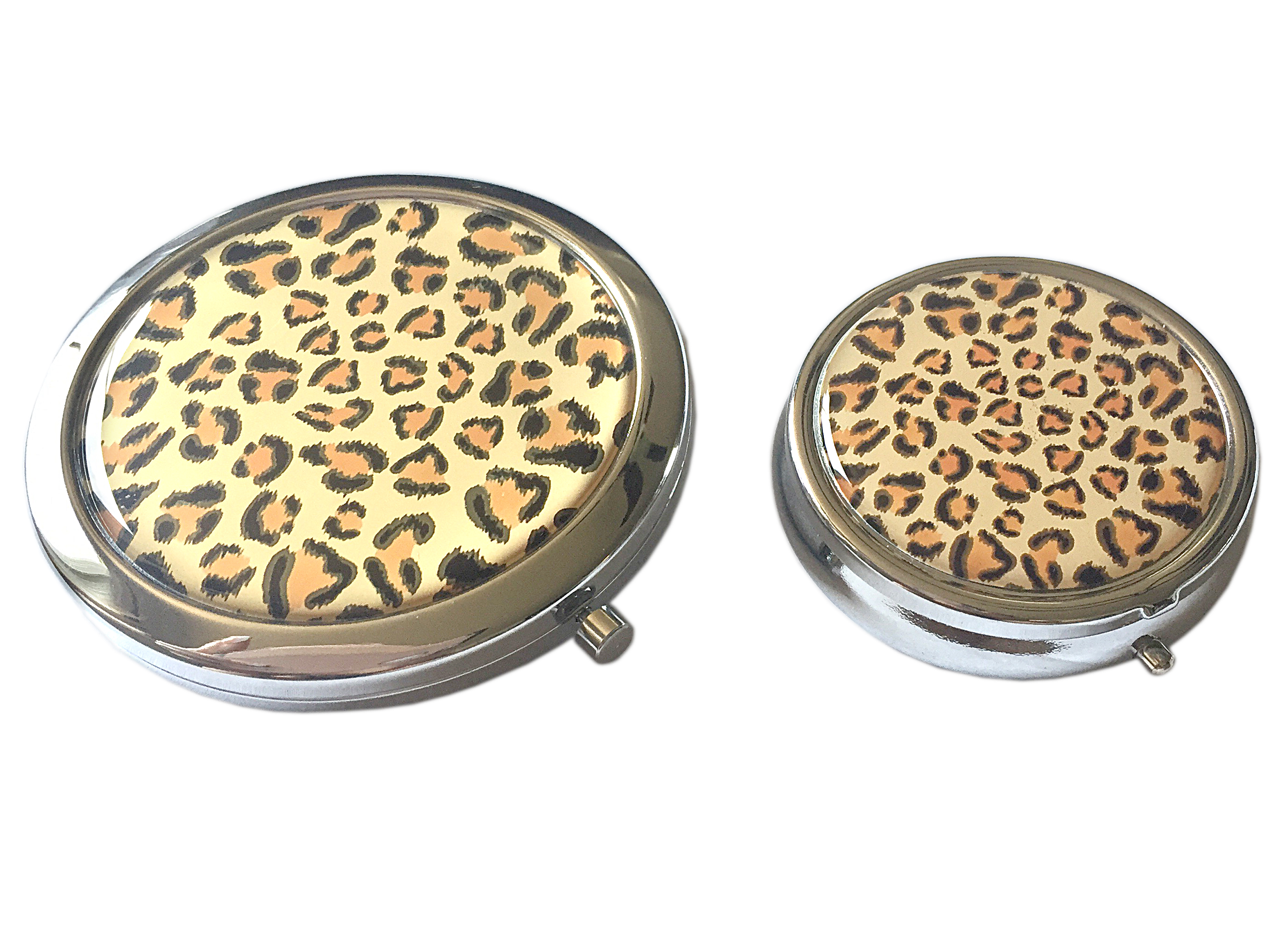 Leopard Print Fashionable Magnifying