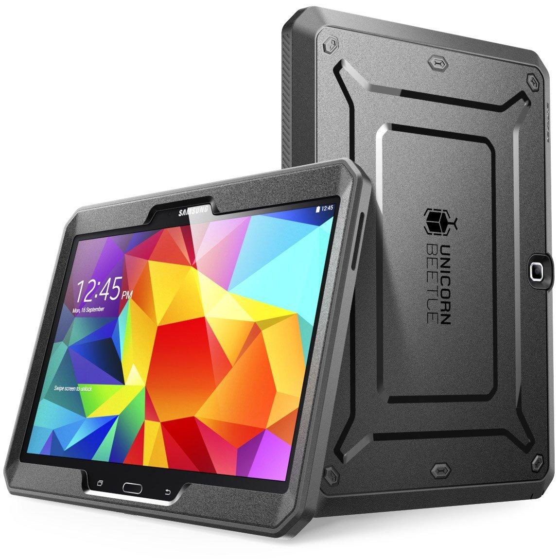 Samsung Galaxy Tab 4 10.1 Case, SUPCASE,Case for Galaxy Tab 4 10.1 Tablet Unicorn Beetle Pro Series Full-body Case-Black