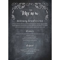product image garden scroll standard menu card
