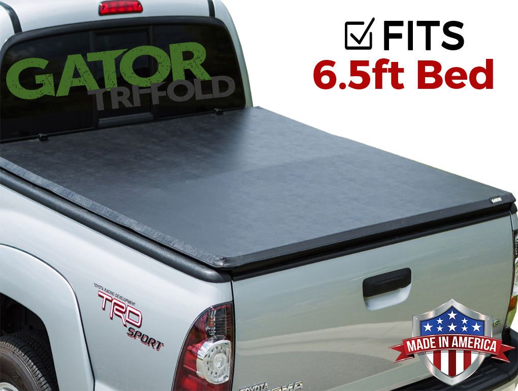 5 1 2 Ft Bed Gator Etx Soft Tri Fold Truck Bed Tonneau Cover Fits Toyota Tundra 2014 19 59416