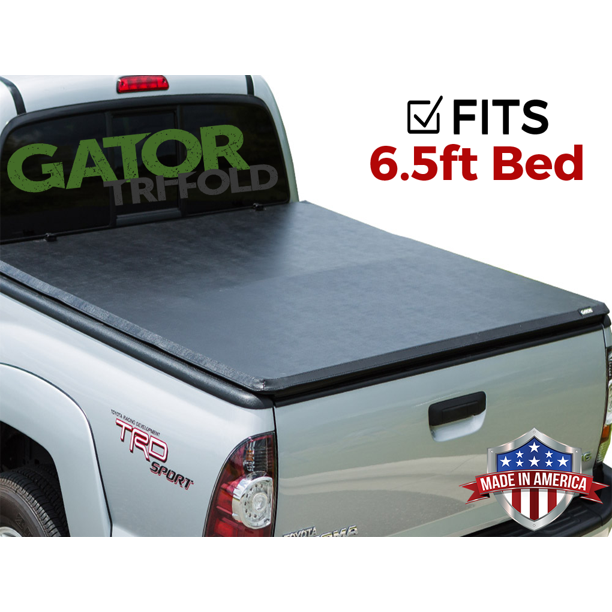 Gator Etx Tri Fold Fits 2014 2019 Toyota Tundra 6 5 Ft Bed W O Ts Only Tonneau Truck Bed Cover Made In The Usa 59407 Walmart Com Walmart Com