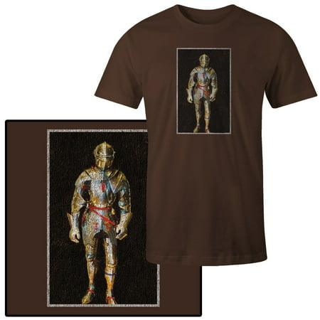 Men's Shining Armor Suit for Knight King Arthur Renaissance - Renaissance Knight Armor
