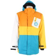 Sessions Iso Snowboard Jacket Bright Blue Mens