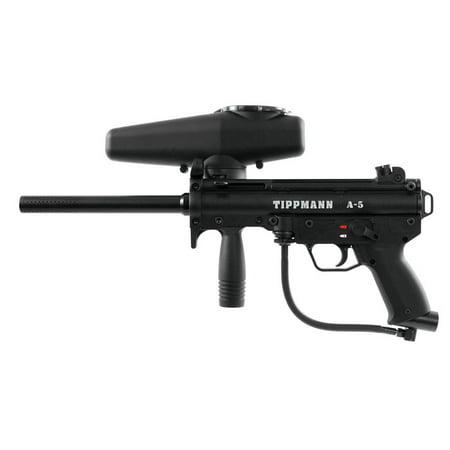 Tippmann A5 Paintball Gun Marker (New Version) Black A-5