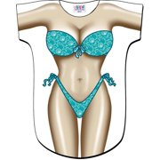 Seafoam Sparkle Bikini Body Tee Shirt Cover-Up #33 (One Size Fits Most)