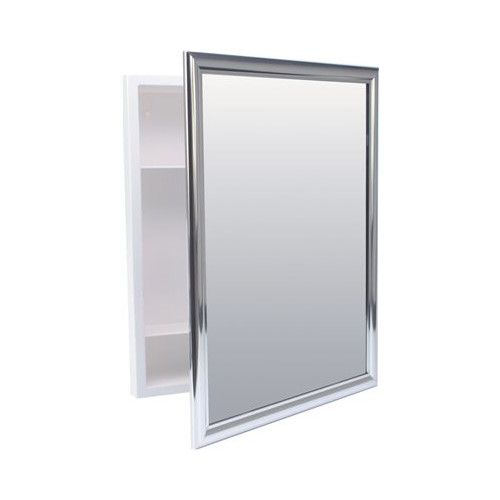 ProPlus 15'' x 19.25'' Recessed Mount Medicine Cabinet by NATIONAL BRAND ALTERNATIVE