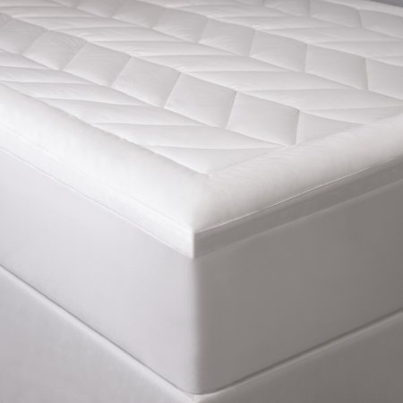 Image of Ensign Chevron Quilted Mattress Pad- King