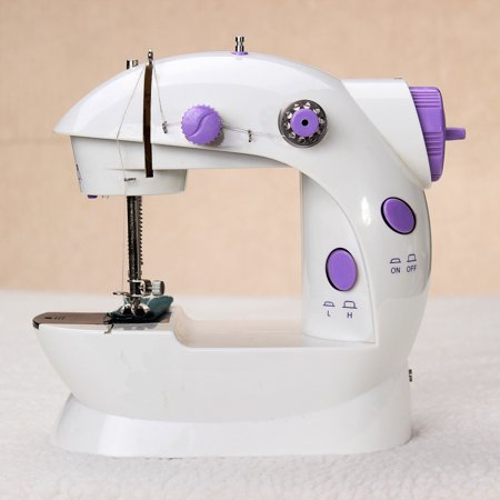 Portable Hand Held Mini Electric Desktop Sewing Machine for DIY Home Household Sewing Tailor With (Tailor Sewing Machines)