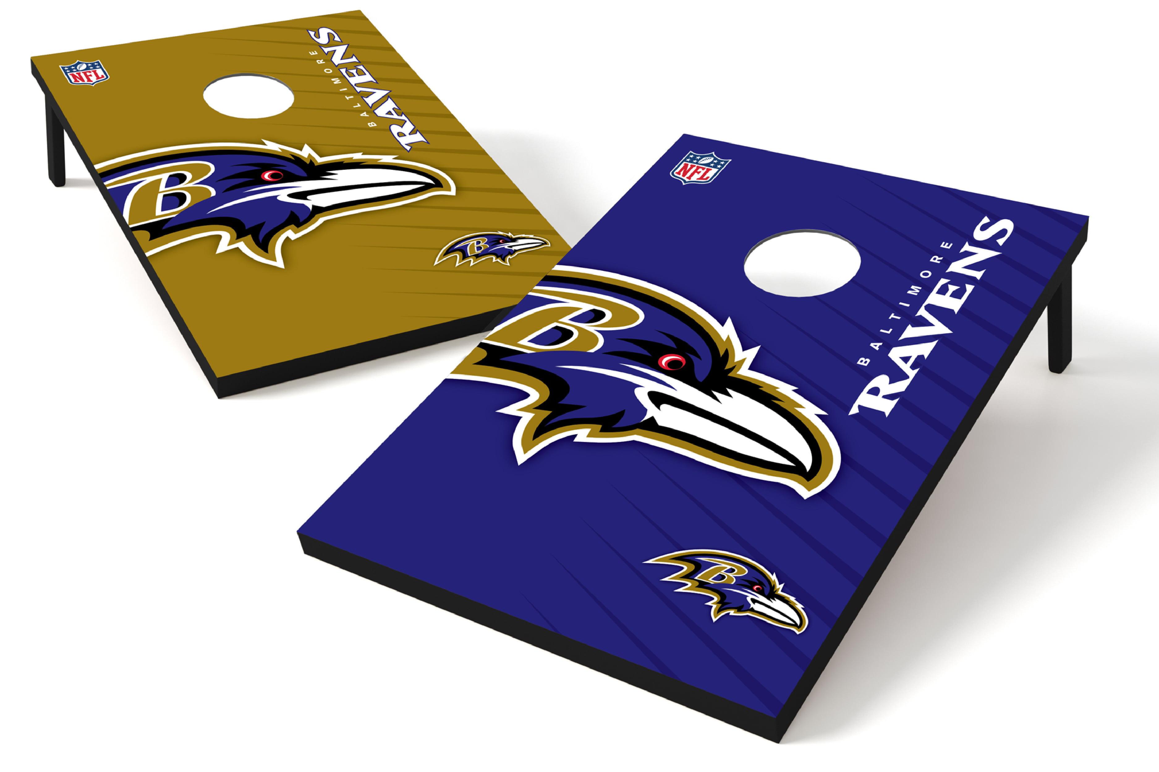 2x3 Bean Bag Toss - NFL Baltimore Ravens