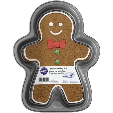 Wilton Treats Made Simple Gingerbread Boy Pan