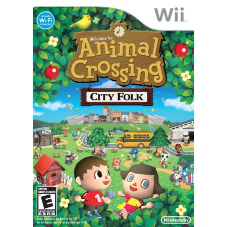 Animal Crossing City Folk (Wii) - Pre-Owned (Animal Crossing City Folk Friend Codes 2014)