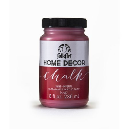Folkart Home Decor Ultra Matte Finish Chalk Acrylic Paint Colors By
