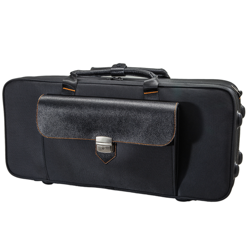 Paititi Premium Alto Saxophone Lightweight Case, Genuine Leather Handle, Backpackable