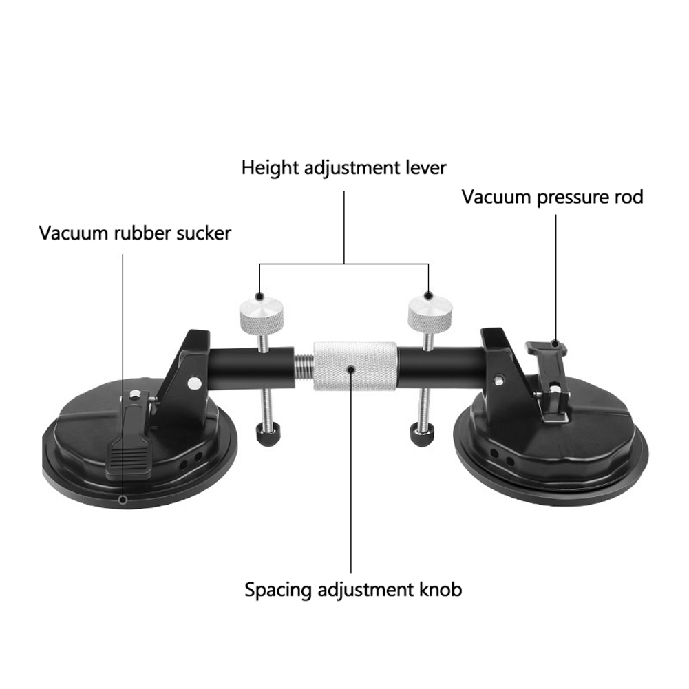 Heavy Duty Adjustable Dual Suction Cup Stone Seam Setter Professional  Countertop Installation Seaming Tool Flat Surfaces Seam Setter