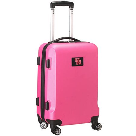 NCAA Mojo Pink Hardcase Spinner Carry On Suitcase