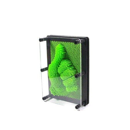 Pin Art Classic 3D Impressions Executive Desktop Office Toy Frame 5 Colors New MZ