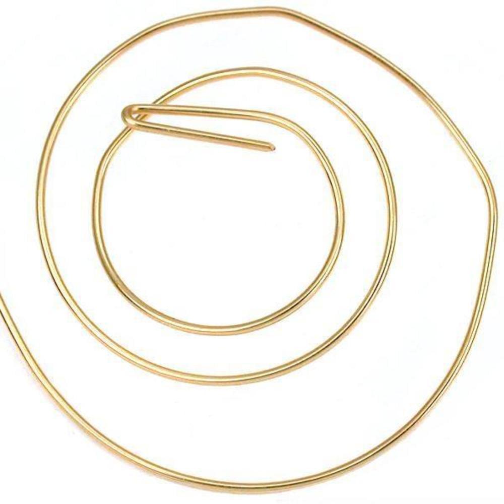 5 ft 14K Gold Filled Round Wire Half Hard 24 Gauge New