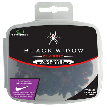Softspikes Black Widow Classic Qfit, 18 Count kit
