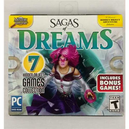 SAGAS OF DREAMS 7 HIDDEN OBJECT GAMES (Hidden Objects Computer Games)