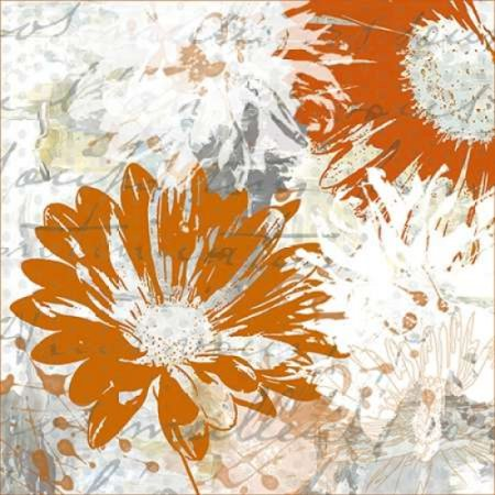Upsy Daisy II Rolled Canvas Art