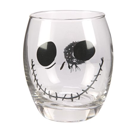 Jack Skellington Faces (The Nightmare Before Christmas Jack Skellington Face Glass Wreath)