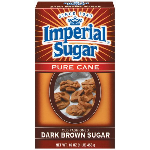 Imperial Imperial  Pure Cane Sugar, Dark Brown, 16 oz