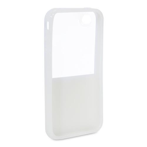 Belkin F8Z621tt146 Shield Eclipse Cell Phone Case - Compatible For iPhone 4, Whi