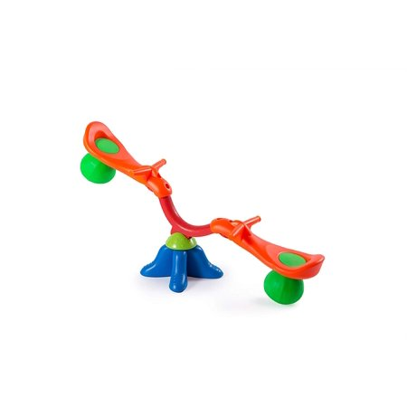 NBD Seesaw ñ Kids Teeter Totter Indoor Outdoor Toy for Kids That Can Rotate 360 Degrees Very Fun Playground Equipment