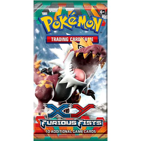 Pokemon XY Furious Fists Booster Pack (Misty Pokemon Adult)