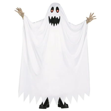 Fade In & Out Ghost Child Halloween Costume, Medium - Diy Ghost Costume Kids