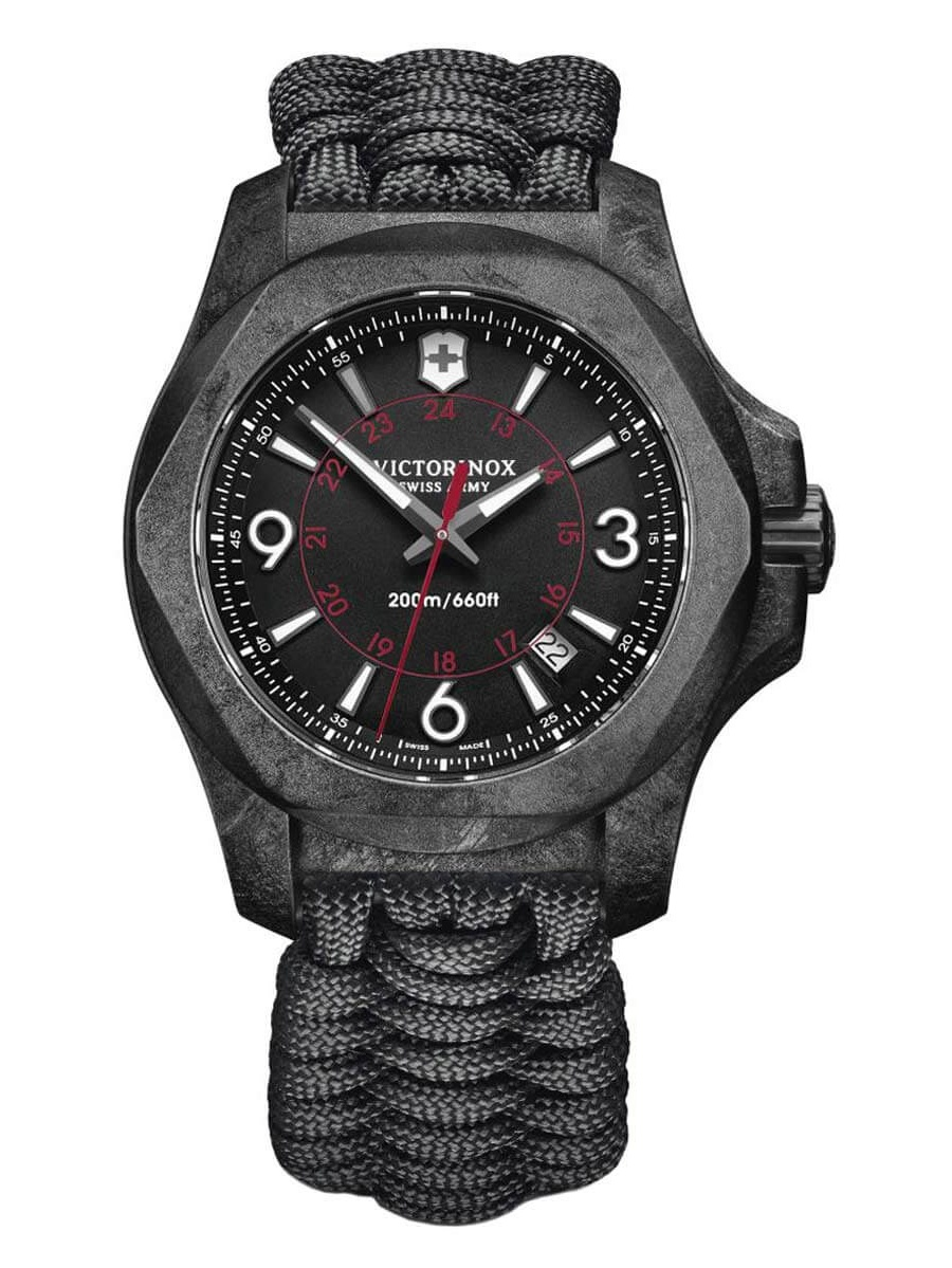 Victorinox - Victorinox Swiss Army 241776 Men s I.N.O.X. Carbon Black Dial Dive  Watch Set - Walmart.com 0583e8bad