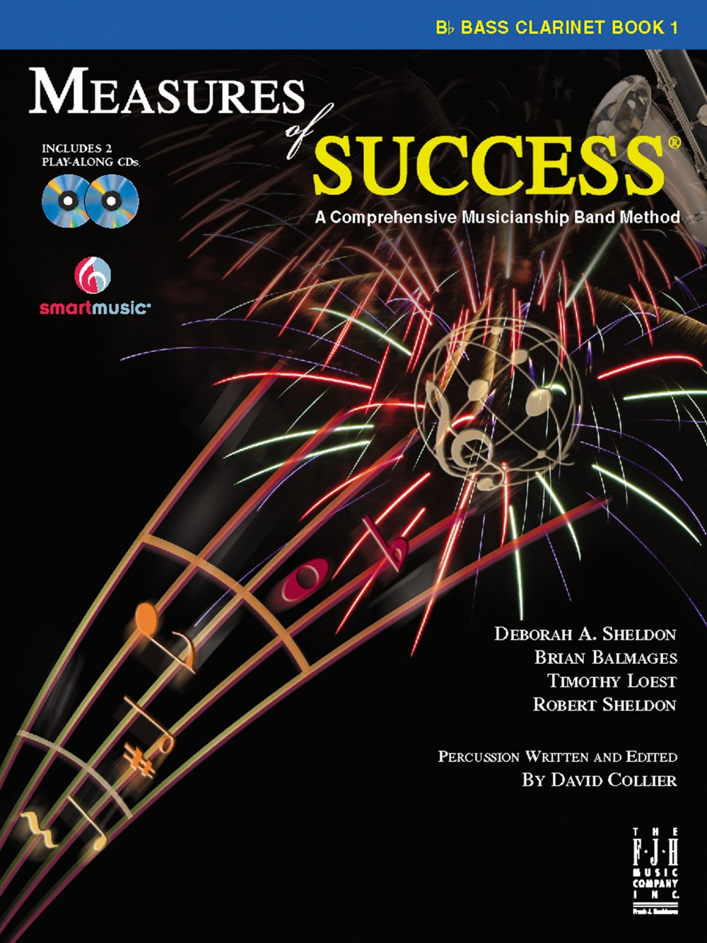 FJH Music Measures of Success Bass Clarinet Book 1 by