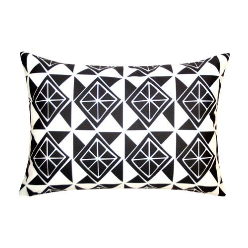 Divine Designs Slices Indoor/Outdoor Lumbar Pillow