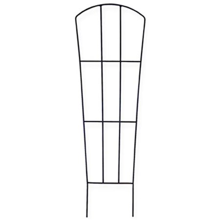 72224 12 x 36 in. Black Minitex Finish Fan Pot Trellis - image 1 de 1