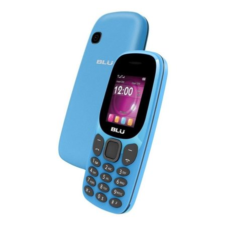 "BLU Jenny J050 1.8"" GSM Cell Phone Unlocked Dual Sim Camera Flashlight FM Radio Blue"