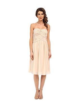 a7699c51ffcc3 Product Image Donna Morgan Women's Anne Short Strapless Chiffon Dress  Champagne Dress