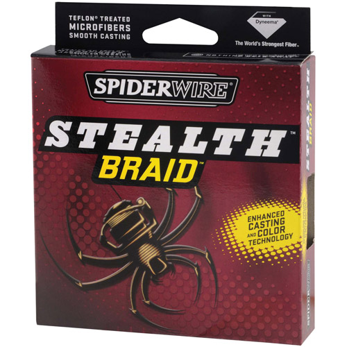Spiderwire Stealth Fishing Line, 125 yd Filler Spool