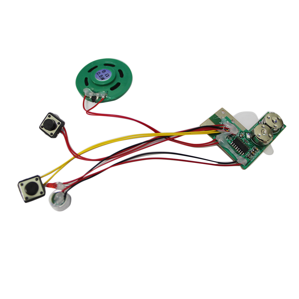 Hot Recordable Voice Module For Greeting Card Music Sound Talk Chip