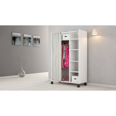 Series Mobile Wardrobe (Lola Mobile Curtain Storage)