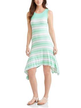 Cotton Silk Skater Dress Calvin Klein atMDf4HaNm